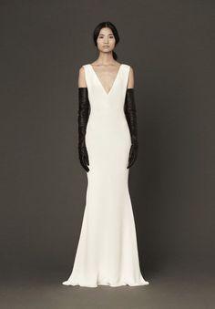 Go Bold or Go Home: Black and White Wedding Dresses - Wedding Party