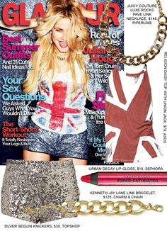 julianne hough glamour fashion style cover sequin rock of ages copy Juicy Couture Necklace, Rock Of Ages, Glamour Magazine, Cover Style, Short Suit, Julianne Hough, Sequin Shorts, Rock Chic, Clothes Horse