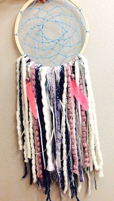 Cute color dream catcher !