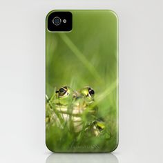 Frog iPhone Case by Jana Behr - $35.00