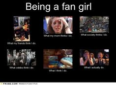 Being a fangirl