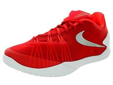 fba100b3aa8d nike hyperchase TB mens trainers sneakers shoes 749554 601 (University Red Mtllc  Slvr White Br