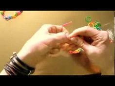 tutorial 1 pulsera gomitas - YouTube