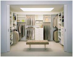 Walk in closet - California Closets