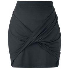 Rockupy Kort kjol »Wrapped Skirt«   Köp i EMP   Mer Basplagg Korta kjolar finns online ✓ Oslagbara priser!