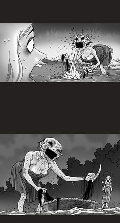 Silent Horror :: Mystic river | Tapastic Comics - image 2