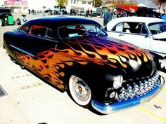 SLED Source by ketosisnow Hot Rods, Classic Hot Rod, Classic Cars, Chevrolet Bel Air, Chevrolet Chevelle, Cool Old Cars, Mercury Cars, Auto Retro, Lead Sled