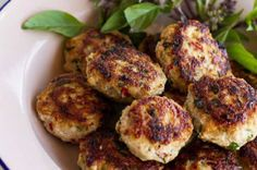 Asian chicken cakes - body+soul