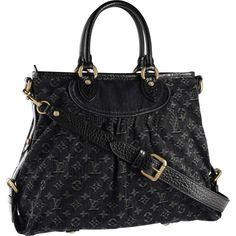 Louis Vuitton M95352 Neo Cabby GM Black