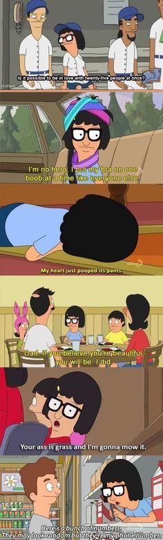 Tina's the best