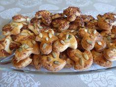 Túrós sós sütemény receptje - Balkonada sós rágcsa recept