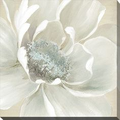 Winter Blooms I #FramedCanvasArt #InteriorDesign