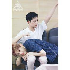 Wanna-One - Guanlin and Daniel K Pop, Dramas, Daniel K, Guan Lin, Lai Guanlin, Ong Seongwoo, Produce 101 Season 2, Kim Jaehwan, Ha Sungwoon