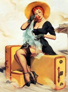 gil elvgren | Gil Elvgren's Redheads – Via Retrorambling | Sad Mans Tongue ...