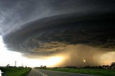 Nature is beautiful and scary at the same time