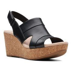 840467d402e Clarks Women s Annadel Ivory Wedge Sandal