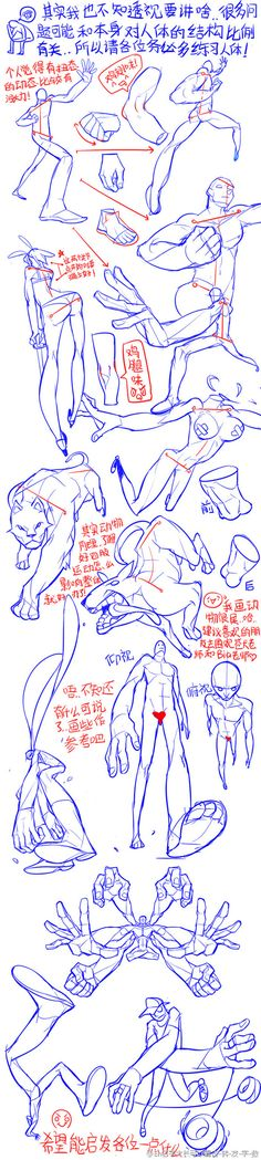 我的收藏 微博-随时随地发现新鲜事 exaggerated camera angles and perspective Gesture Drawing, Anatomy Drawing, Drawing Skills, Drawing Poses, Manga Drawing, Drawing Techniques, Drawing Sketches, Art Drawings, Sketch Poses