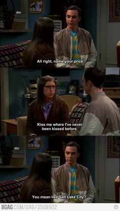 I LOVE Sheldon Cooper.
