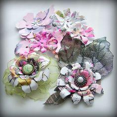 Olga Helge: mixed media Mixed Media, Floral Wreath, Wreaths, Diy, Home Decor, Do It Yourself, Homemade Home Decor, Flower Crowns, Door Wreaths