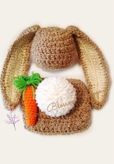 Hey, I found this really awesome Etsy listing at https://www.etsy.com/listing/222780198/crochet-newborn-bunny-hat-diaper-cover