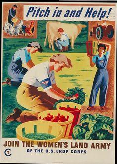 US WWII food propaganda poster