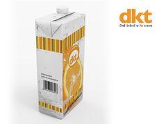 Packaging para la empresa DKT de productos ecológicos