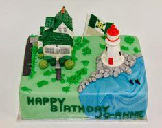 Sugarbird Sweets and Cakery: Cape Breton Lighthouse Retirement Cake