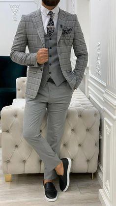 Dress Pants, Shirt Dress, Formal Suits, Dapper Men, Suit Vest, Men's Suits, Black Suits, Gentleman Style, Wedding Suits