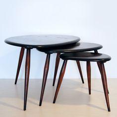 Ercol Pebble tables