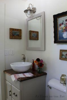 Httpwwwmobilehomerepairtipsbathroomcabinethardwarephp Stunning Updating A Small Bathroom On A Budget Design Decoration