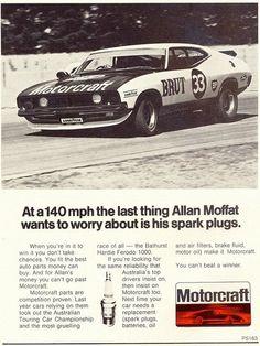 1974 Ford XB Falcon Hardtop - Motorcraft - Allan Moffat Ad by...
