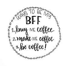 BFF coffee