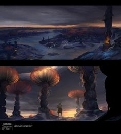Bad Batch Concept Art Gallery | Anaxes forest con...