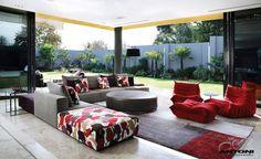 Togo sofa by Michel Ducaroy for Ligne Roset. #LiveBeautifully #LigneRosetSF www.lignerosetsf.com