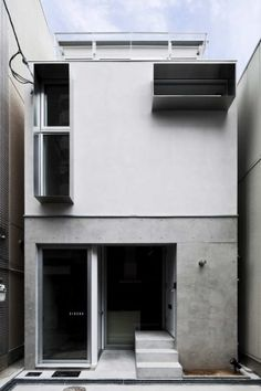 House A / Takeshi Hamada                          : a miniature residential unit that contains a music studio as well as hobby room which could easily be converted to a gallery or bar during mini concerts