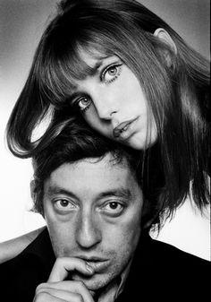 Jane Birkin & Serge Gainsbourg - Gainsbourg with his first wife - Jane Birkin (singer / actress)