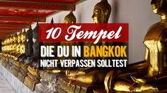 Bangkok hat über 400 Tempel zu bieten. Die schönsten 10, die du dir unbedingt ansehen solltest, stellen wir in diesem Artikel vor.