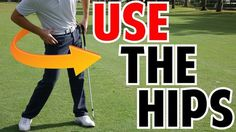 How to Use the Hips in the Golf Swing | Crazy Detail - YouTube