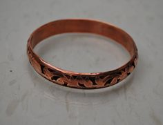 Vintage Copper Bangle by serendipitytreasure on Etsy, $9.99