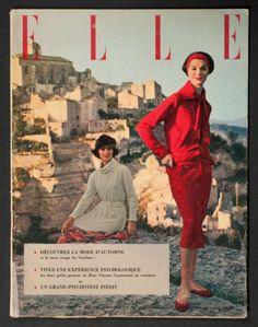 'ELLE' FRENCH VINTAGE MAGAZINE 19 AUGUST 1957 |