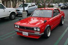Nissan Skyline KGC10 GT-X.