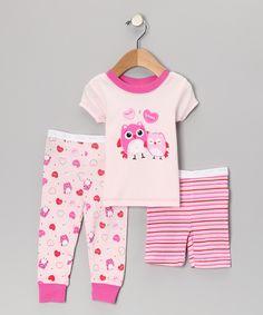 Baby & Toddler Clothing Ambitious Kids Sleepwear Owl Girl Baby Toddler Pyjamas Set Pjs Clothing Cotton Nightwear Clothing, Shoes & Accessories