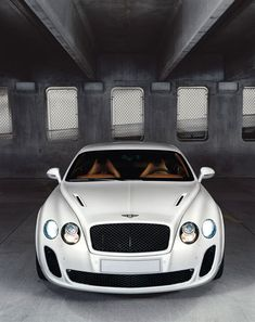 Beautiful White Bentley