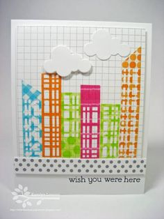 images about cardswashi tape Washi, Washi
