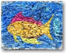 Crayon Crackle Painting Lesson Plan: Painting for Kids - KinderArt texture