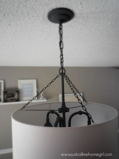 Dining Room Light Fixture Update | More Dining room light fixtures ...