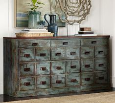 Clerk's Console Table | Pottery Barn