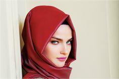 Modern Turkish scarf style
