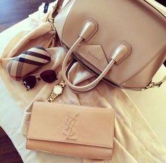 givenchy bag for her Yves Saint Laurent bag and accessories Clutch Prada, Bag Prada, Clutch Bag, Sac Michael Kors, Michael Kors Outlet, Gucci Handbags, Purses And Handbags, Unique Handbags, Handbags Online