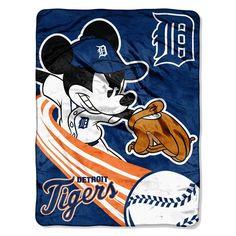 Detroit Tigers MLB Mickey Micro Raschel (46in x 60in)